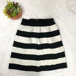 Down East A Line Bandage Skirt Striped